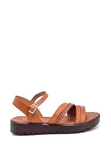 Derimod Kadın Sandalet (321) Casual Taba